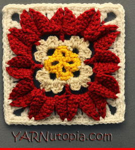 In Full Bloom Granny Square