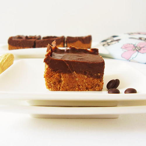 Peanut Butter Chocolate No Bake Bars