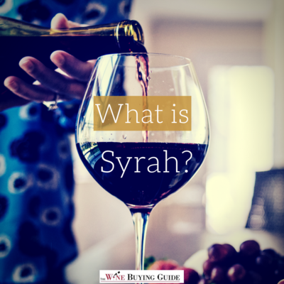 Learn about Syrah wine