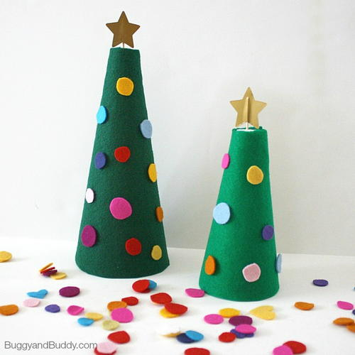 Easy and Fun Felt Christmas Tree