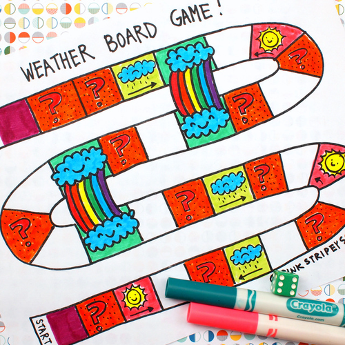 Free Printable Weather Game for Kids