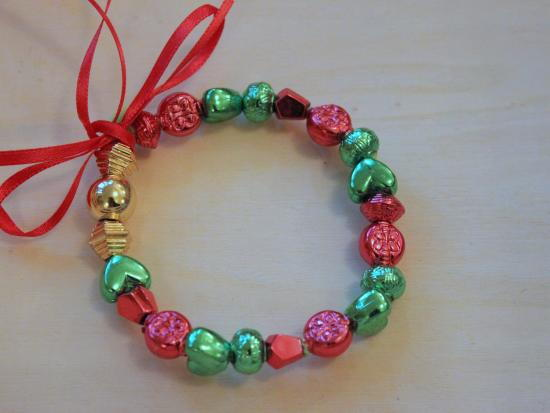 Mini Wreath Beaded Bracelet