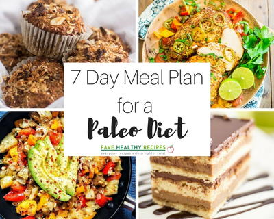 7 Day Meal Plan for a Paleo Diet