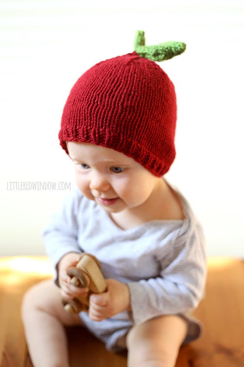 Apple Hat Knitting Pattern  42afae314d9