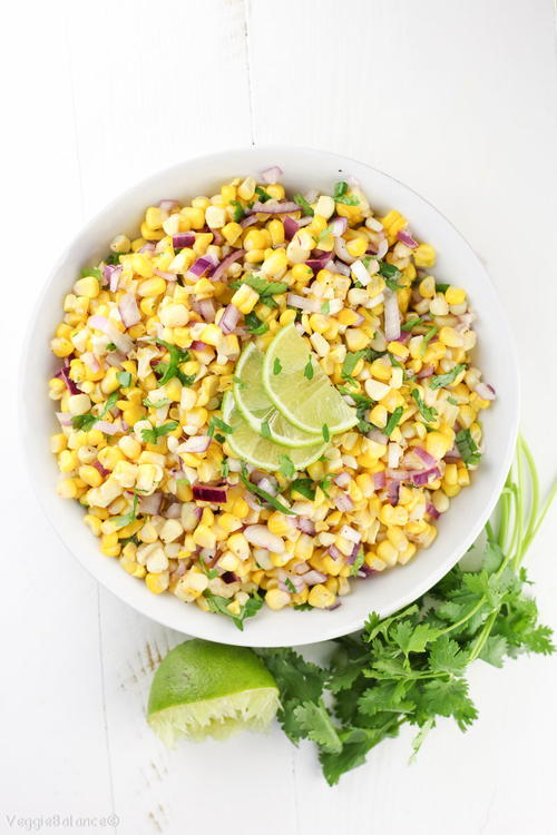 Healthy Mexican Corn Salad