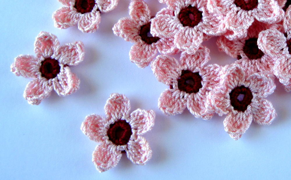 Cherry Blossoms Crochet Pattern Allfreecrochet Com