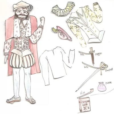 Men in Ancient History Paper Dolls