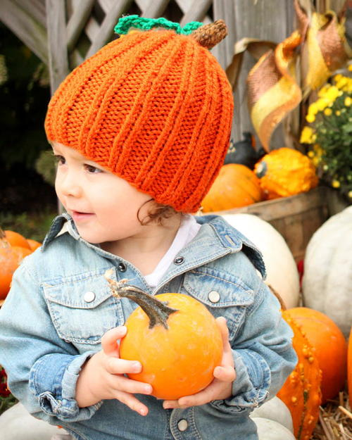 Toddler Pumpkin Hat Knitting Pattern  9038595d475