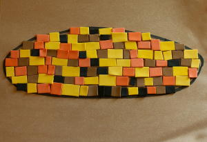 Fast and Fun Mosaic Indian Corn Craft