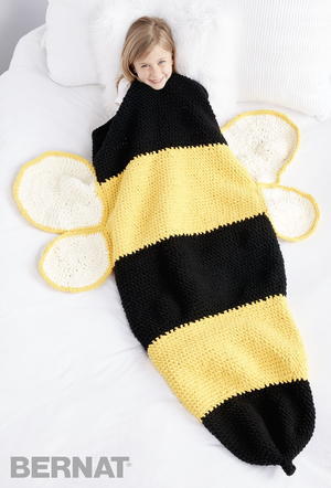 Busy Little Bee Snuggle Sack