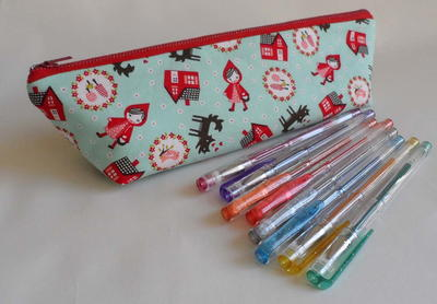 Triangle Pencil Case