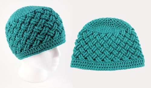 87103b3c542 Celtic Dream Crochet Beanie Pattern