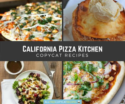 Copycat California Pizza Kitchen Recipes