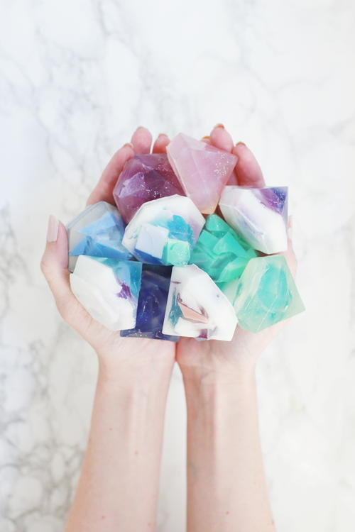 Gemstone Soap DIY Wedding Favor