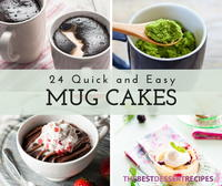 22 Quick and Easy Mug Cake Recipes
