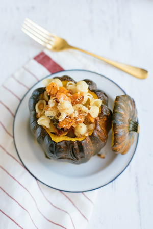 Fall Macaroni & Cheese with Butternut Squash and Sage