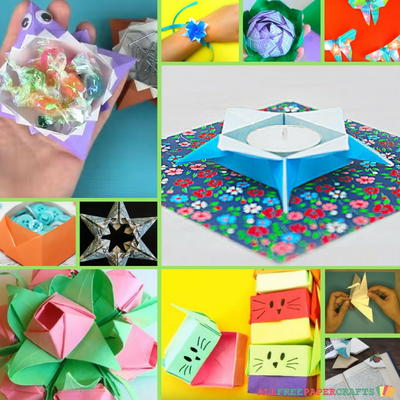 How to Make Origami Fun and Functional: 15 Origami Animals, Flowers, & More