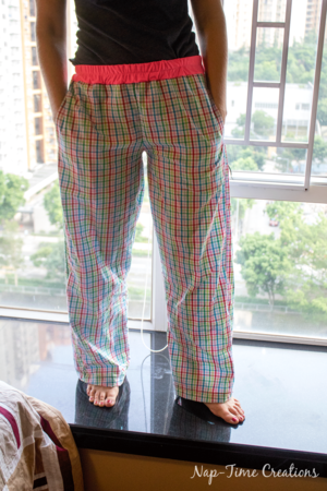 graphic about Printable Pajama Pants Pattern named Lounge Trousers PDF Behavior