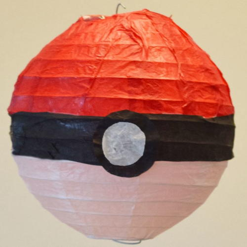 Pokemon PokeBall Paper Lantern Project
