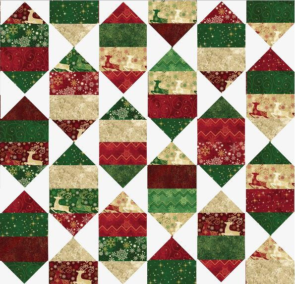 Holiday Nights Layer Cake Pattern