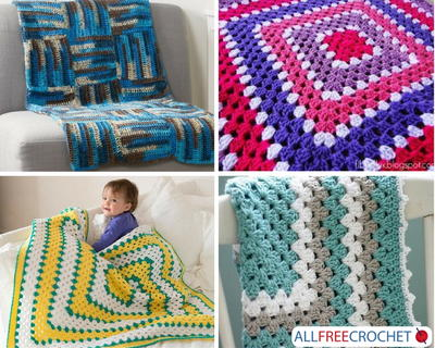 49 Quick and Easy Crochet Afghans | AllFreeCrochet com