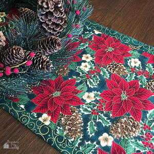 Festive Christmas Table Runner