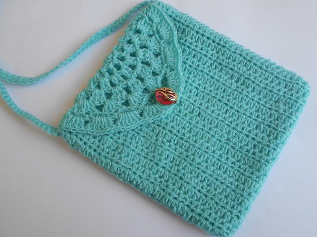 Crochet Small Cute Purse Favecrafts Com