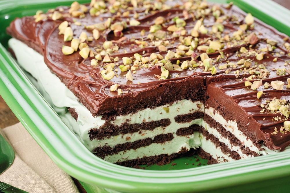 Pistachio Icebox Cake Mrfood Com