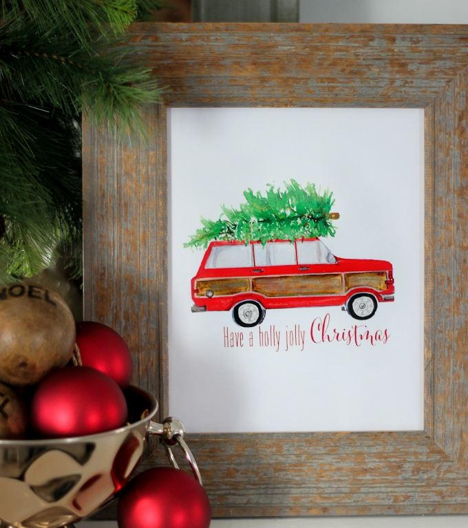 Tree Time Free Christmas Printable