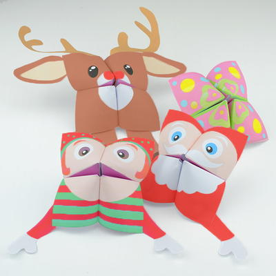 photograph about Printable Paper Crafts referred to as 25 Xmas Paper Crafts for Youngsters