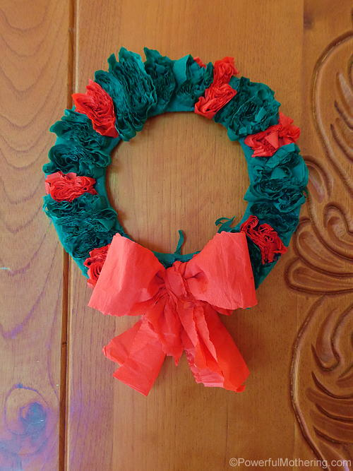 Quick and Simple Christmas Wreath