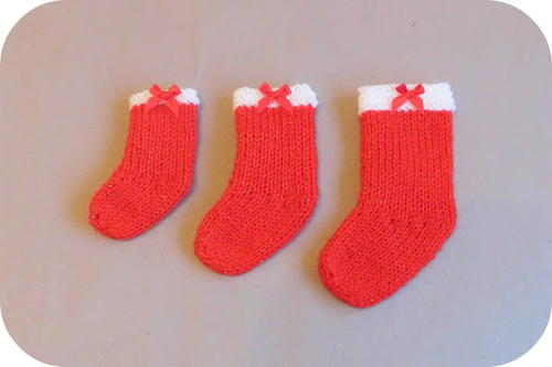 Little Christmas Stockings Knitting Pattern