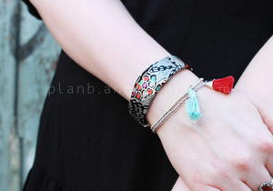 Recycled Fabric DIY Bracelet