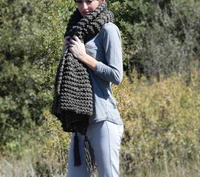 15 Free Knit Scarf Patterns Using Bulky Yarn