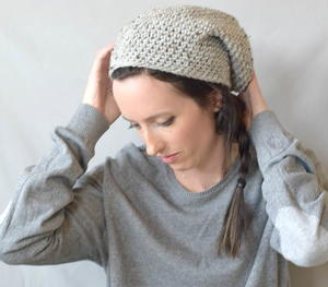 Beginner One Skein East Village Slouch Hat