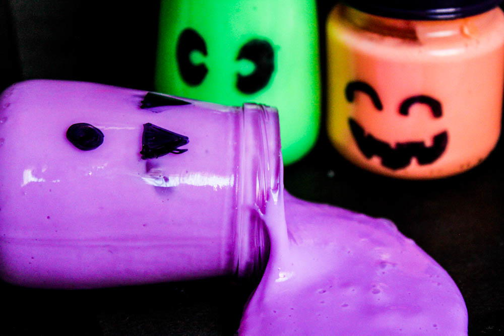 Halloween Glow In The Dark Slime Favecrafts Com