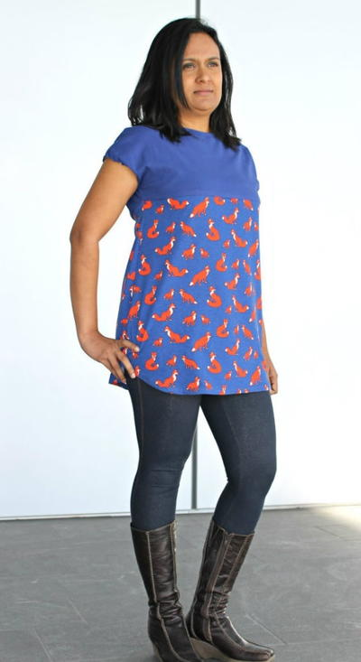 DIY Tunic Shirt Pattern