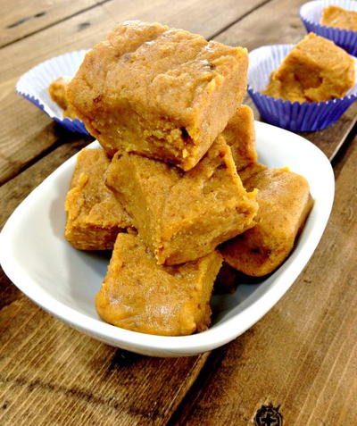 The Best Pumpkin Pie Fudge Ever