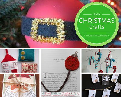 Easy Christmas Crafts to Make at the Last Minute