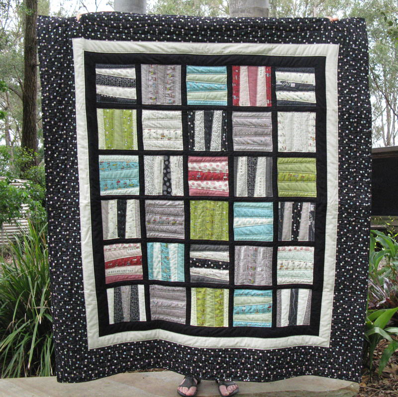 Scrappy Blocks Quilt Favequilts Com