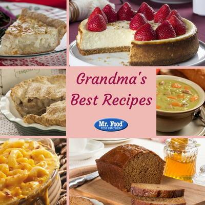 16 of Grandma\'s Best Recipes | MrFood.com