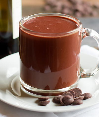 Red Wine Hot Chocolate