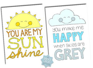 graphic relating to You Are My Sunshine Printable known as Oneself Are My Solar Coloring Web pages