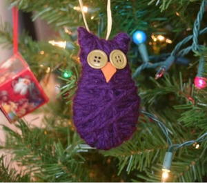Oh So Cute Owl Ornament
