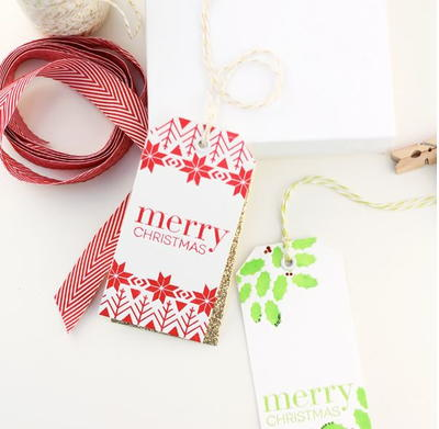 Lovely Letterpress Gift Tags