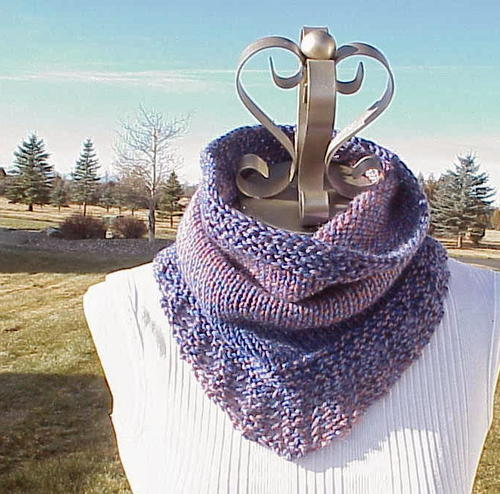 Knitting Pattern For Gallatin Scarf : Gallatin Scarf Pattern FaveCrafts.com