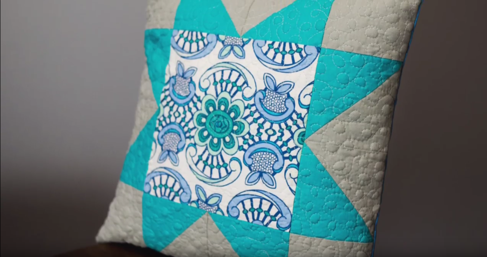 How To Make A Quilted Pillow Cover Favequilts Com