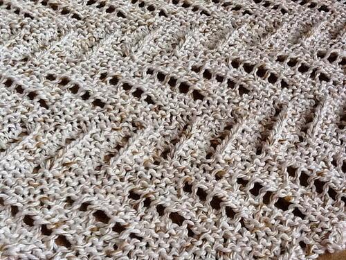 Dizzyingly Diagonal Scarf Pattern Favecrafts Com