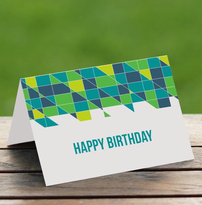 DIY Printable Birthday Card | FaveCrafts.com