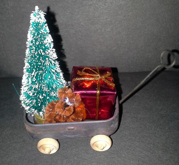 Mini Wagon Ornament